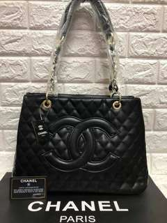 Chanel Chain Bag - Black