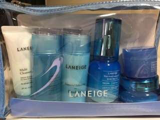 Laneige essential care 6 steps trial