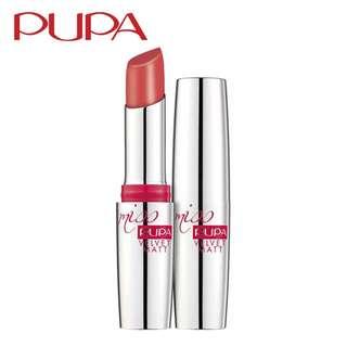 PUPA Miss Pupa Velvet Matt [Long Lasting Matt Lip Colour] - Choices of 9 Colours Lipstick