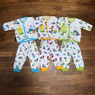 Newborn Baby's Long Sleeve Top & Pants