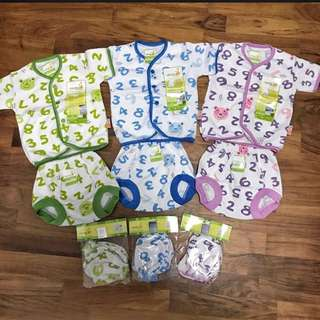 Newborn Numbered Baby's Clothes