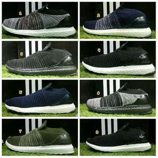 Sepatu adidas pria ultraboost original asli terbaru branded murah running hitam abu navy hijau