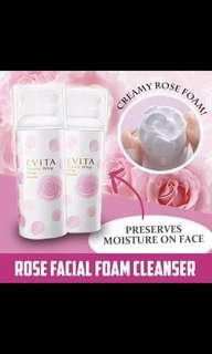 Kanebo Evita Rose Foam Beauty Whip Soap Cleanser
