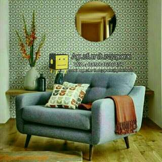 SOFA SINGLE SANTAI RETRO