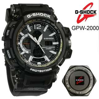 Gsock casio GPW 2000 dualtime