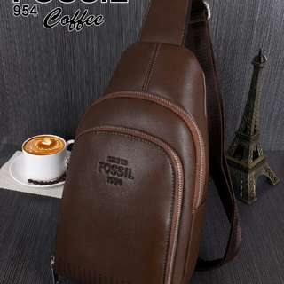 Tas Kulit FOSSIL Cross Bag 954#*