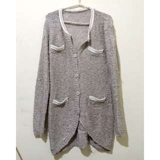 Cardigan rajut fit xl