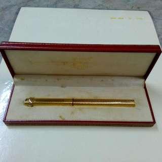 Cartier Paris Fountain Pen Vintage