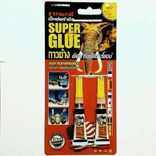 Super Glue  2 x 3g