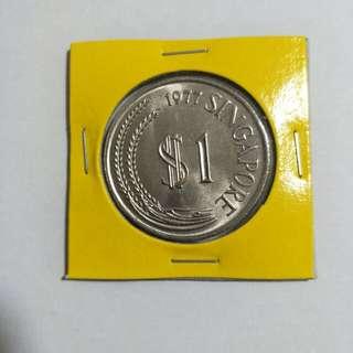 Singapore 1977 $1