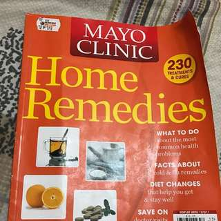 Mayo Clinic Home Remedies Self Help Book