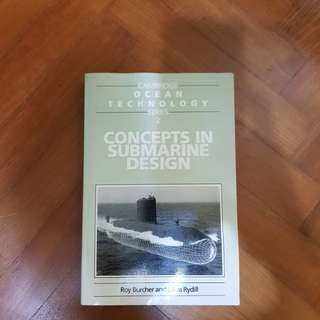 Concepts in submarine design (history book)