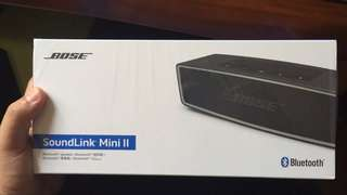 Bose Soundlink Mini2 Bluetooth Speaker ll 黑色/銀色藍牙喇叭