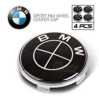 BMW All Black Wheel Cap