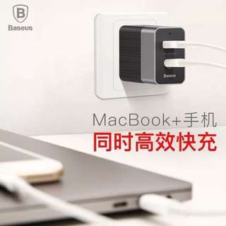 Baseus Type C Fast Charger (MacBook & Mobile)