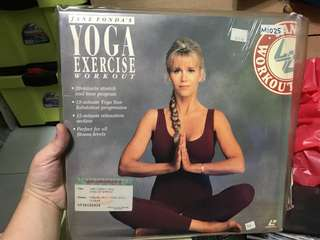Yoga exercise workout (laser disc)