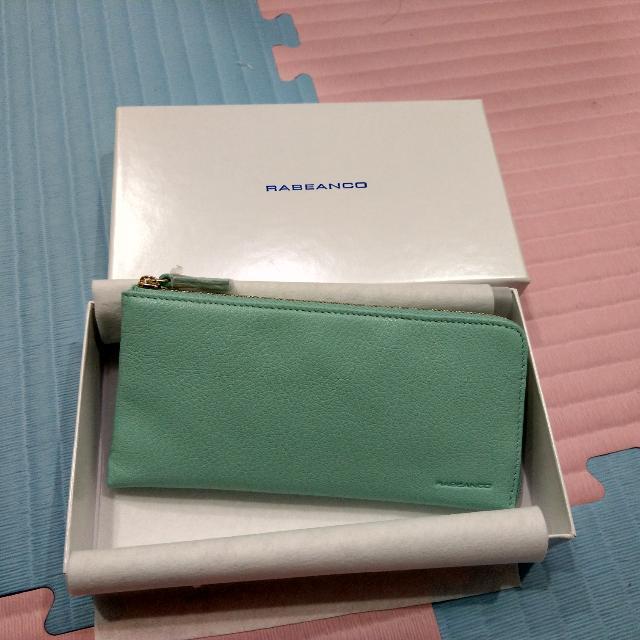 3/12香港購回Rabeanco牛皮皮夾