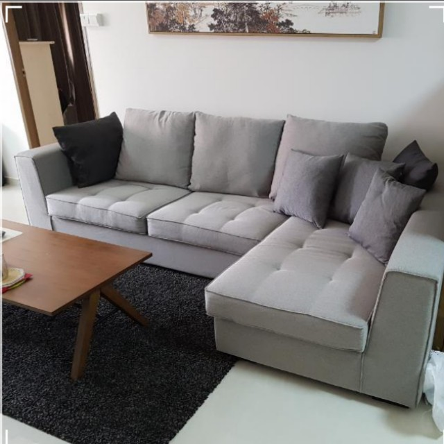 3 Seater L Sofa New Price Furniture Sofas On Carousell