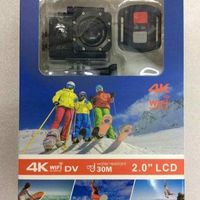 4K HD Sports Cam with WIFI