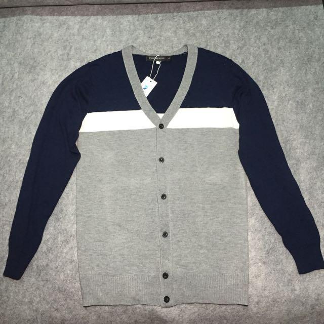 👉(現貨優惠)拼接針織外套