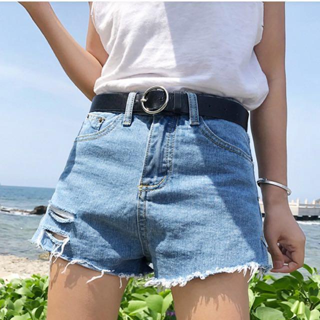 [全新]簡單刷破牛仔褲❤️