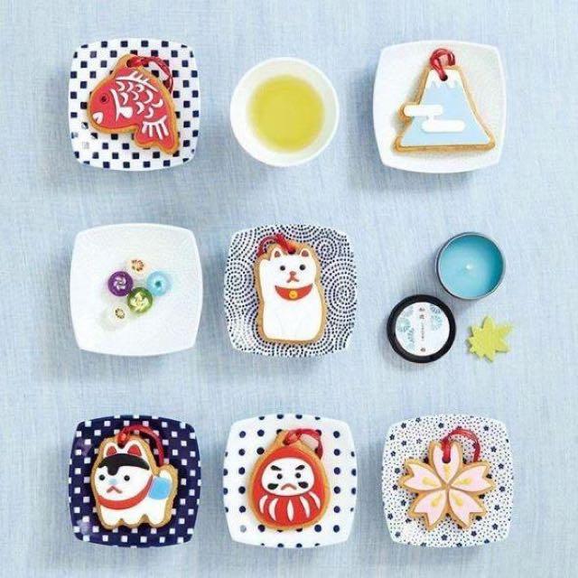 日本療癒小物糖霜感香氛片掛飾