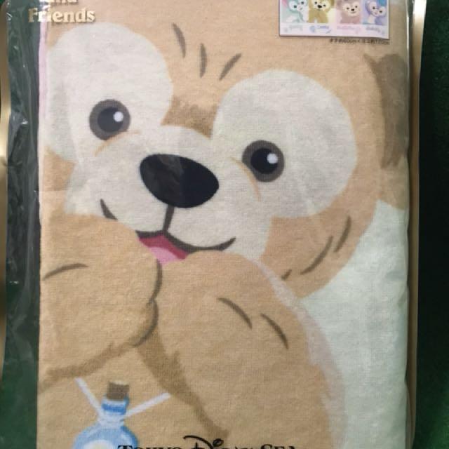 日本🇯🇵迪士尼園區  達菲系列毯子