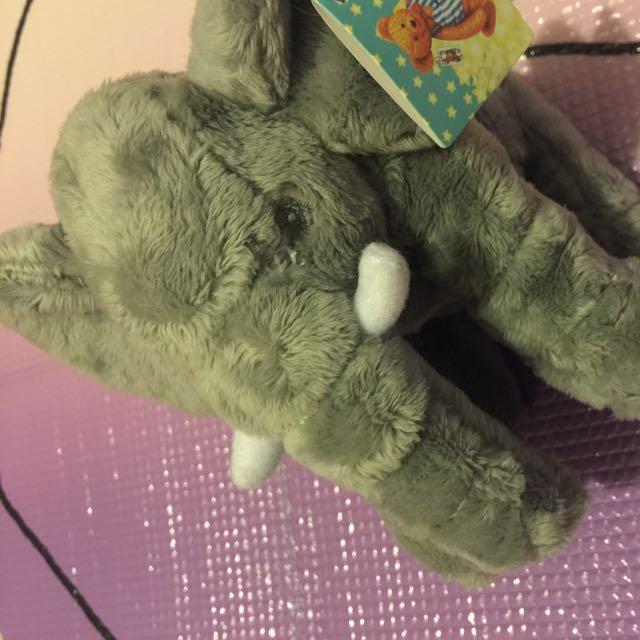 絨毛玩具安撫大象 療癒 大象 寶寶玩具
