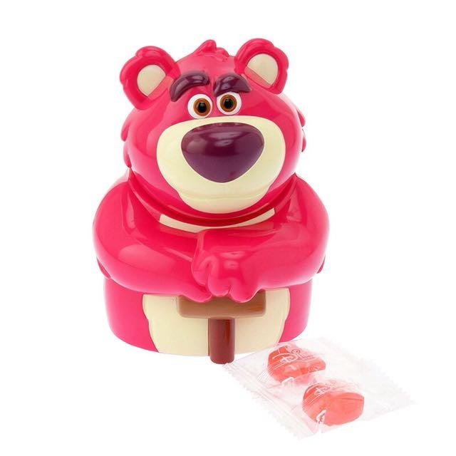 迪士尼商店 熊抱哥 糖果盒 搖頭 存錢桶