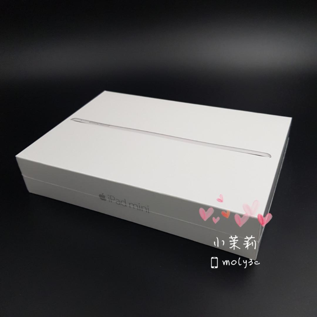 蘋果 APPLE iPad mini 4 Wi-Fi 128GB 全新未拆 台灣公司貨 保固1年 高雄可面交 金 銀