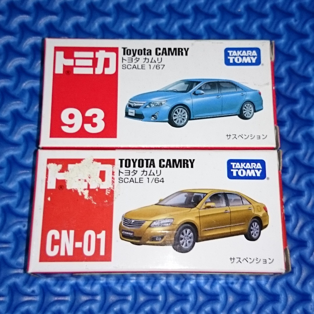 🆒 Tomica Toyota Camry Lot of 2