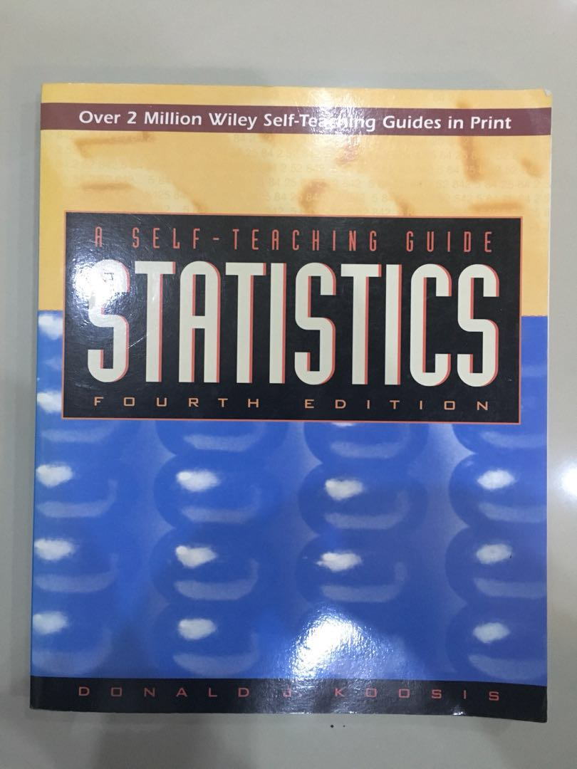 A Self Teaching Guide Statistic