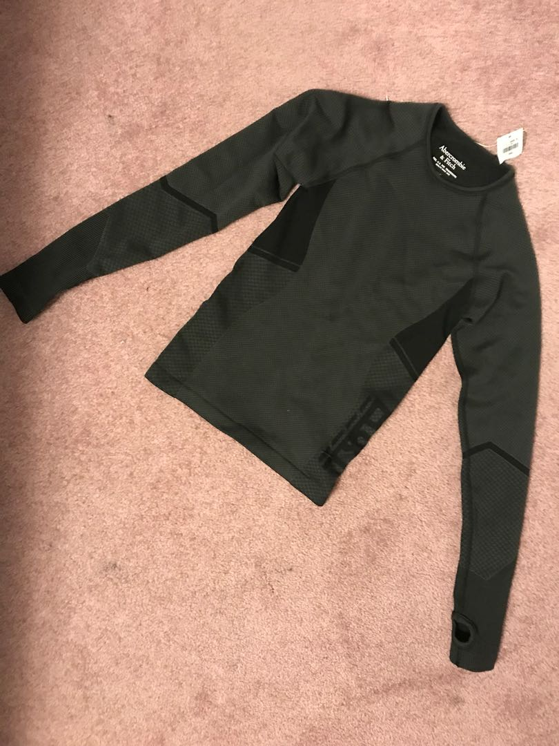 Abercrombie & Fitch Sports Long Sleeve Shirt, XS