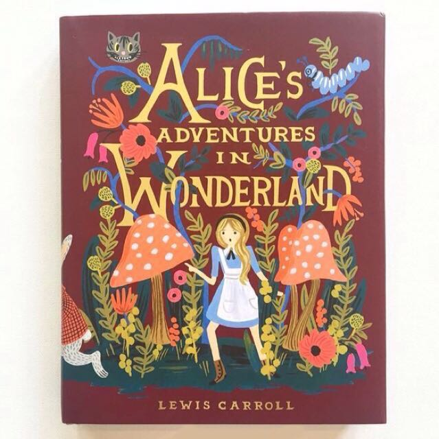 Alice's Adventures in Wonderland - 150th Anniversary Edition - Puffin in Bloom - Hardcover hardback hard cover - beautiful illustrated book