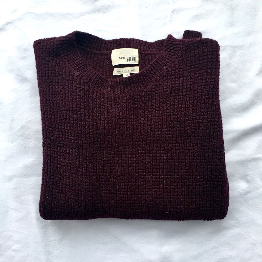 ARITZIA ISABELLI SWEATER BY WILFRED FREE