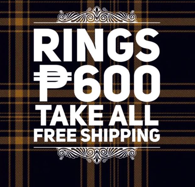 ASSORTED RINGS - TAKE ALL - FREE SHIPPING