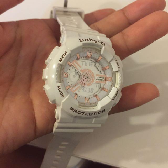 Baby G 白色手錶