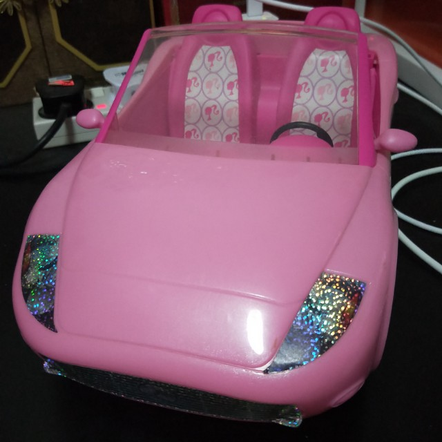 Barbie Doll Car Toys Games Bricks Figurines On Carousell