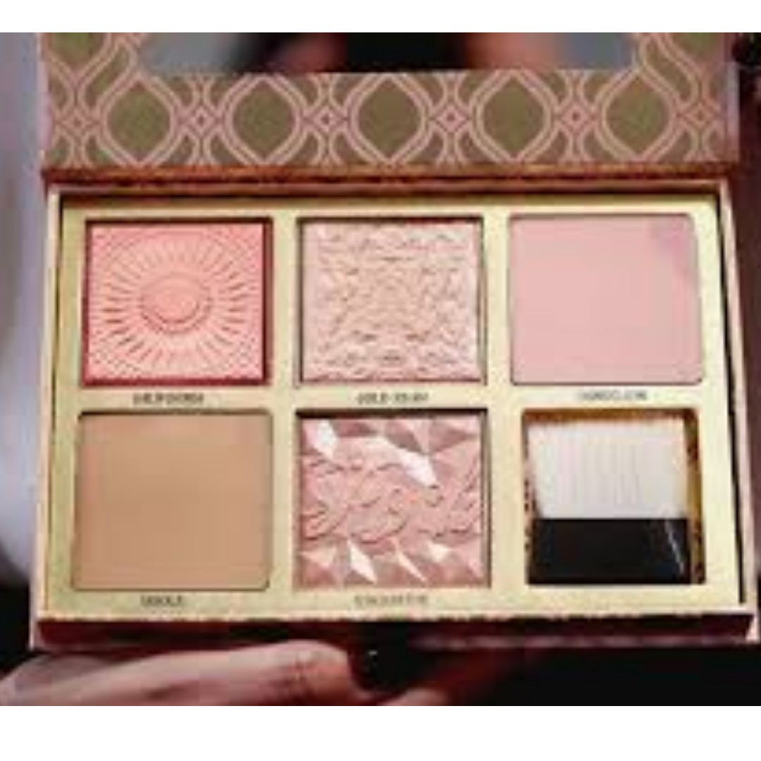 """BENEFIT Blush Bar """"cheeks on pointe"""" bronzer & blush palette Featuring Gold Rush BRAND NEW & AUTHENTIC (NO SWAPS, NO OFFERS) ARRIVING APRIL"""