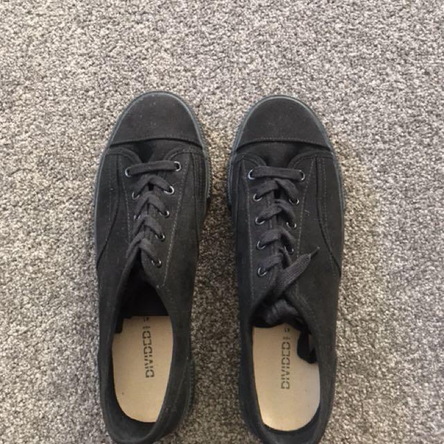 Black Divide sneakers