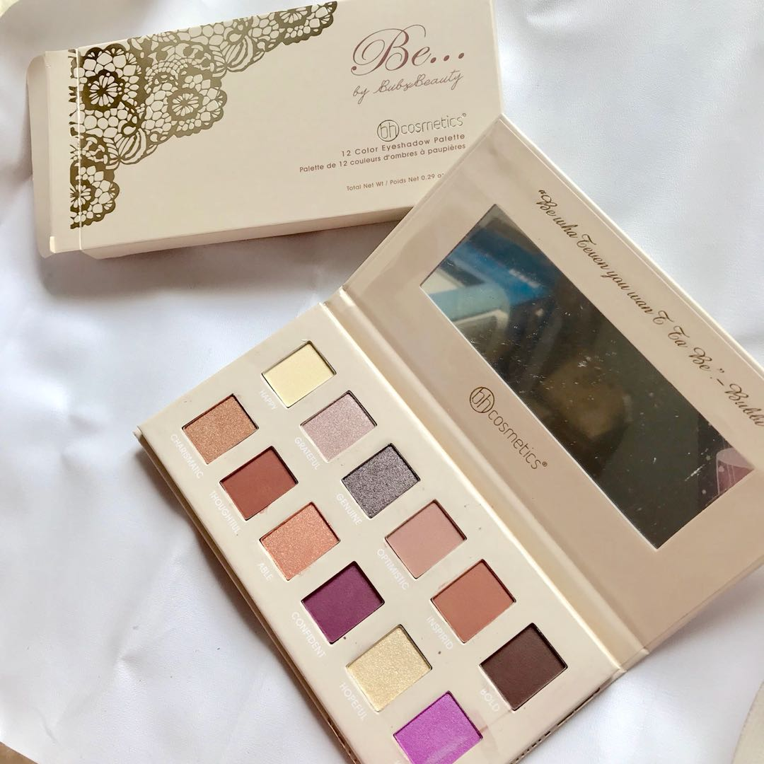 Bubzbeauty be palette by bh cosmetics