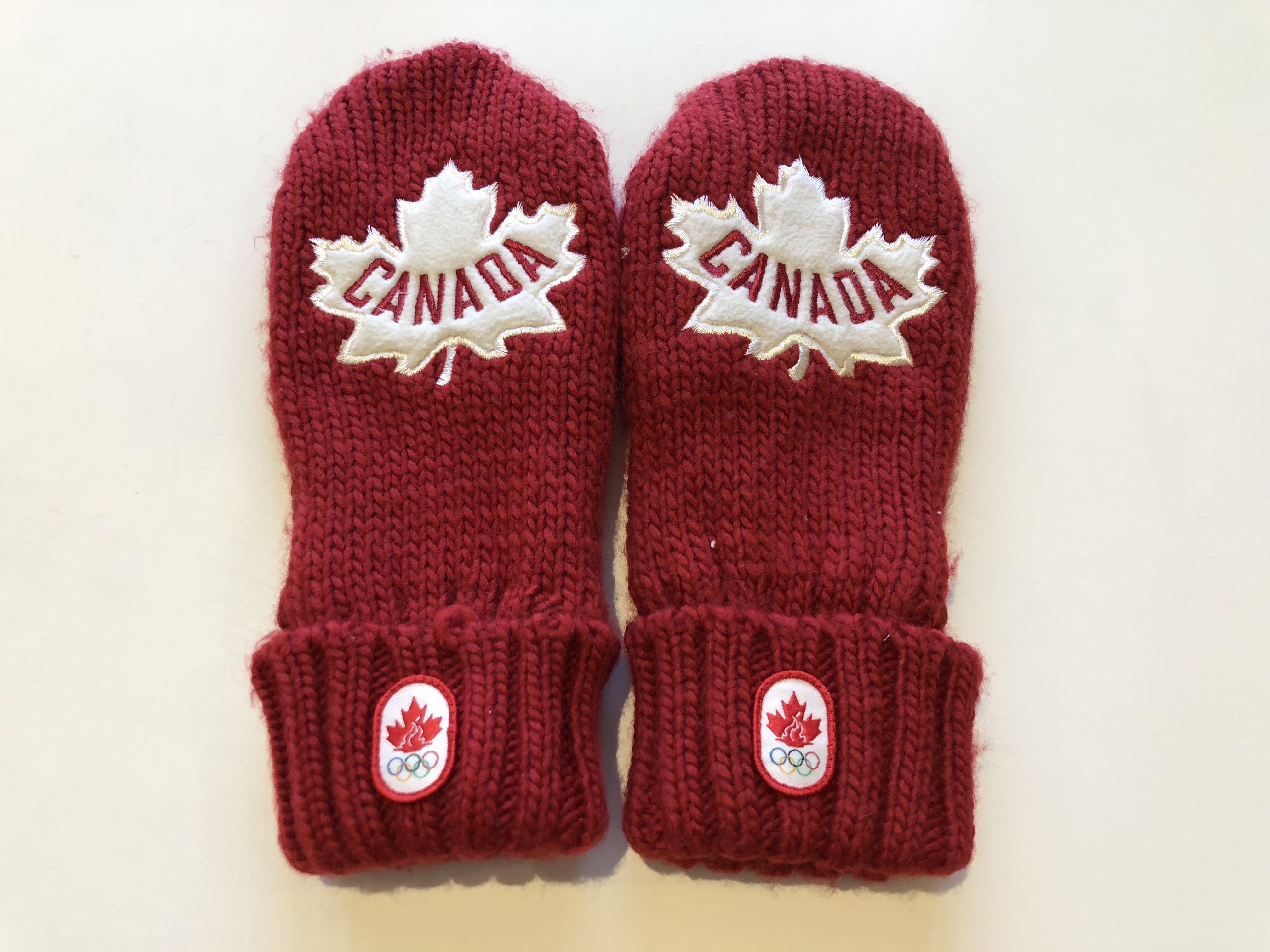 Canada 2012 winter olympics mittens