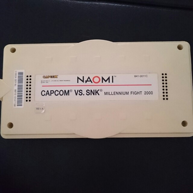 Capcom vs snk sega naomi arcade game