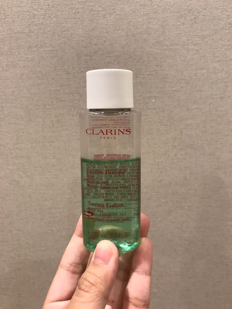 Clarins travel size preloved toner