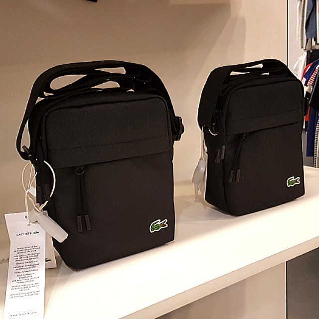 87cc4f2a7 SPECIAL OFFER! Authentic Lacoste Neocroc Vertical Camera Bag (100 ...