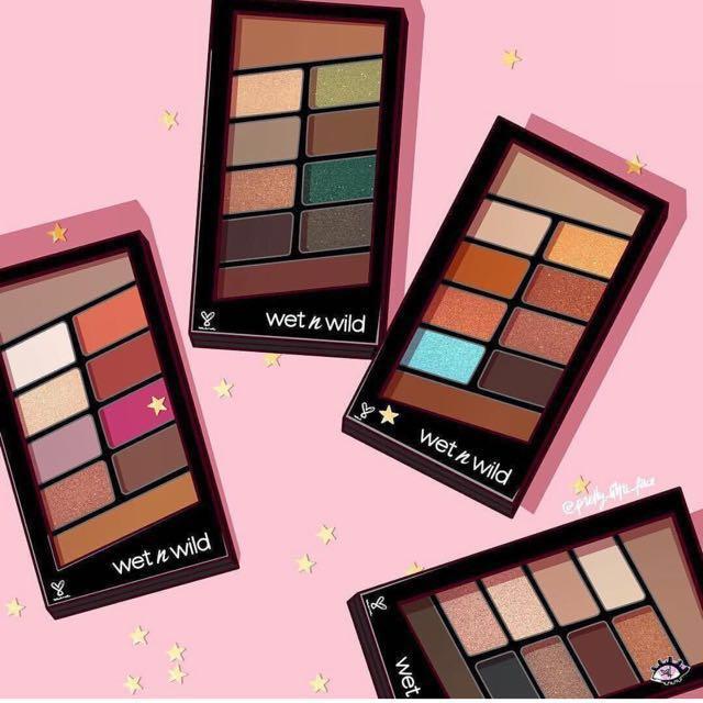 CLEARANCE! WET N WILD 10 pan Eyeshadow palette