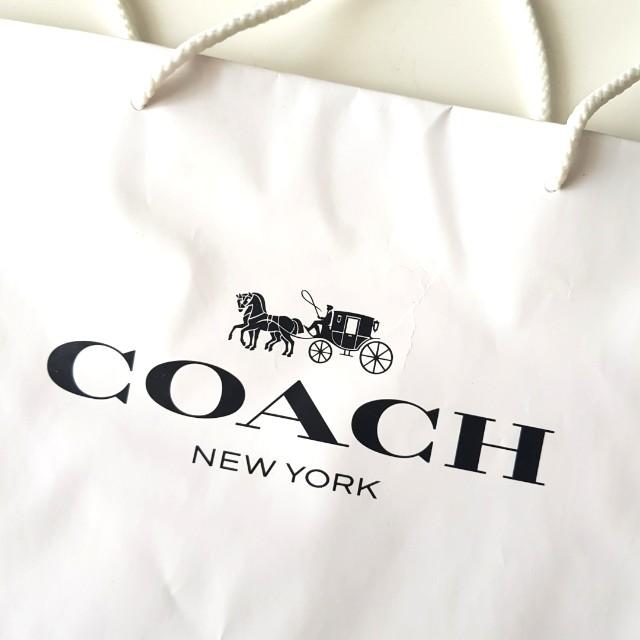 #Fesyen50 Coach Paper Bag