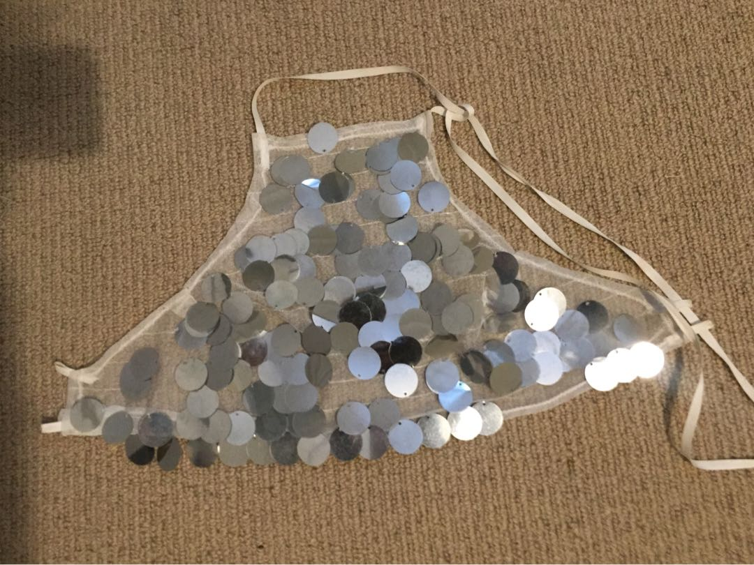 Coco Fields Sequinned Top