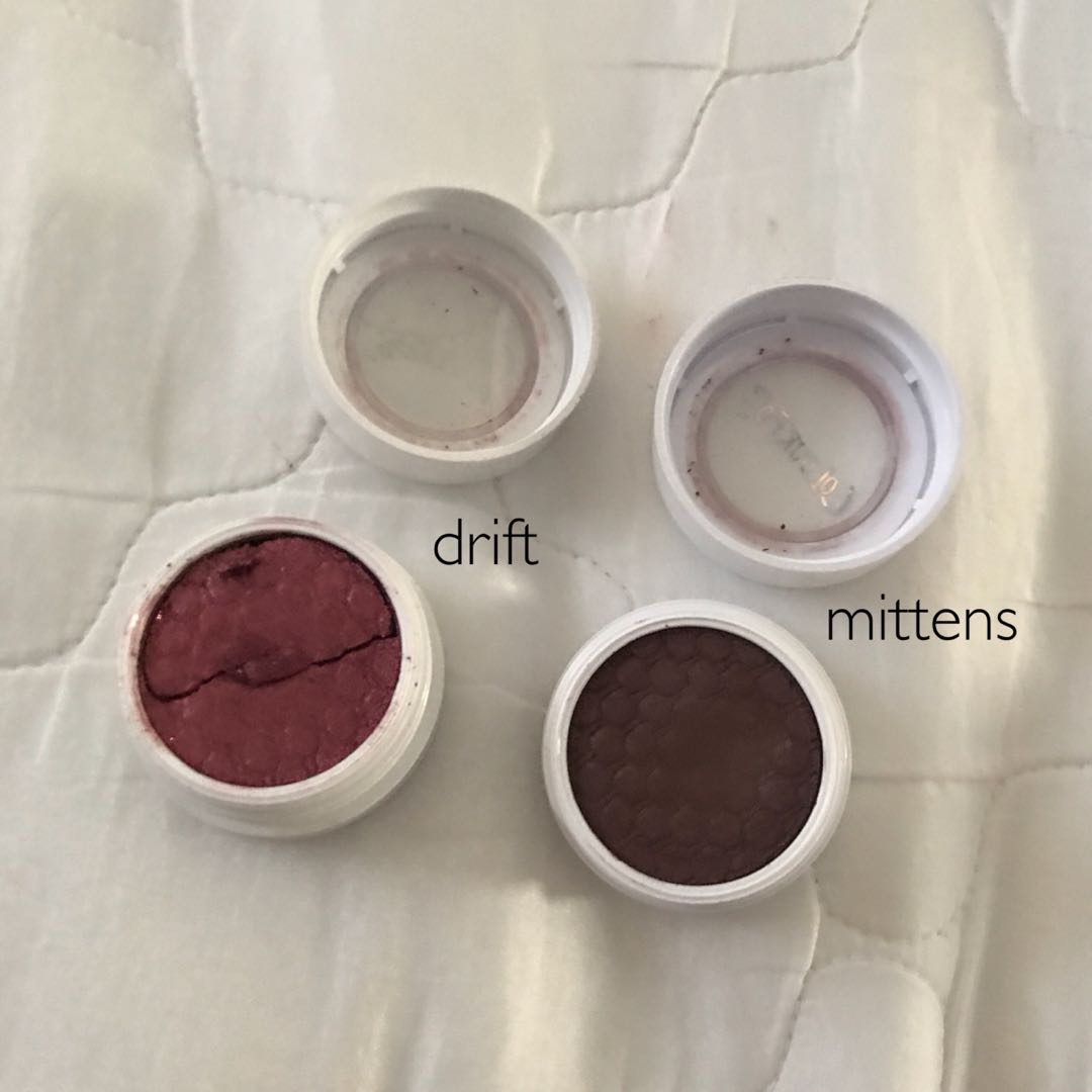Colourpop Super Shock Shadow in Mittens and Drift