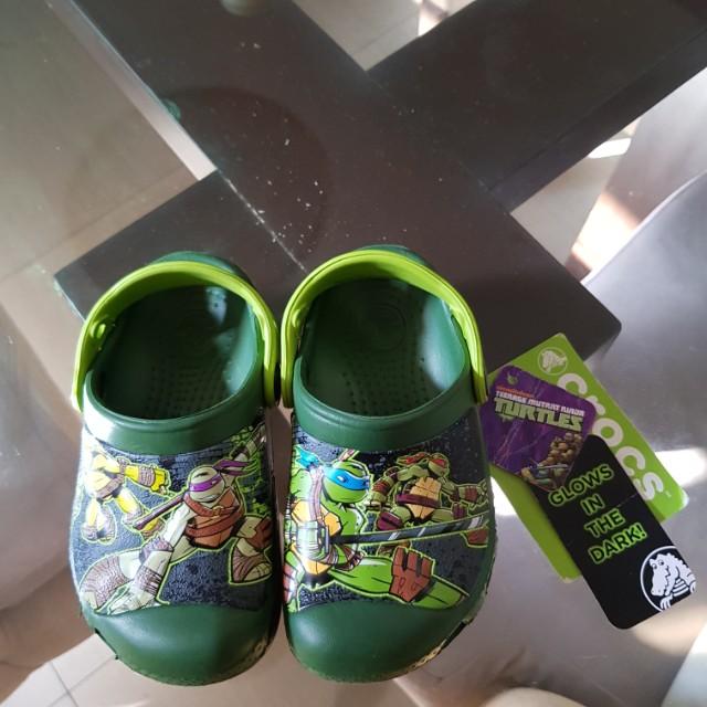 Crocs Ninja Turtles Glow in the Dark